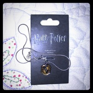 NWT Harry Potter Hufflepuff necklace from England!